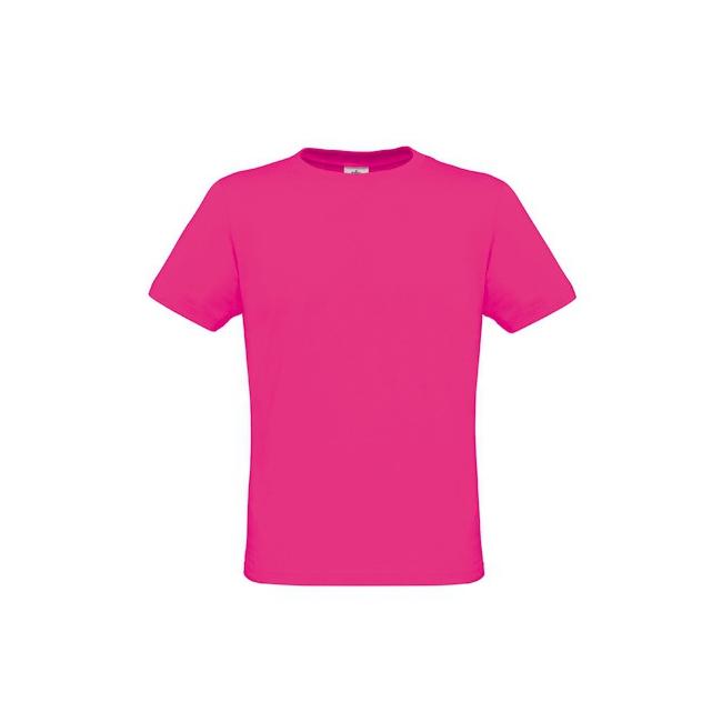 Heren shirts neon roze
