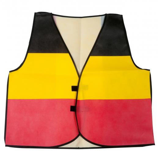Hesje in de Belgische kleuren