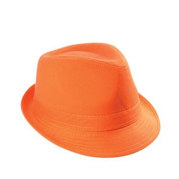 Hip oranje supporters hoedje