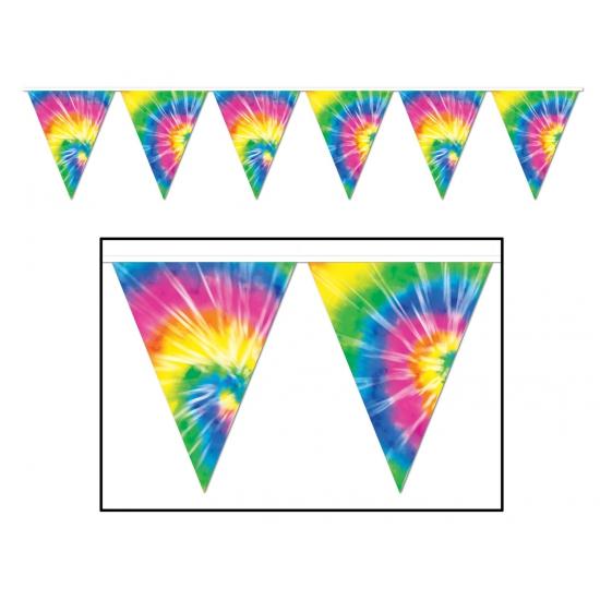 Hippie sixities vlaggenlijnen