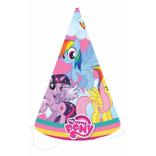 Hoedjes met My Little Pony plaatjes