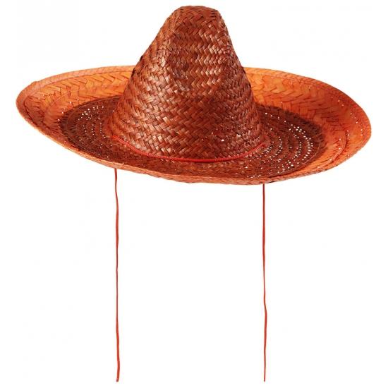 Holland sombrero oranje 48 cm