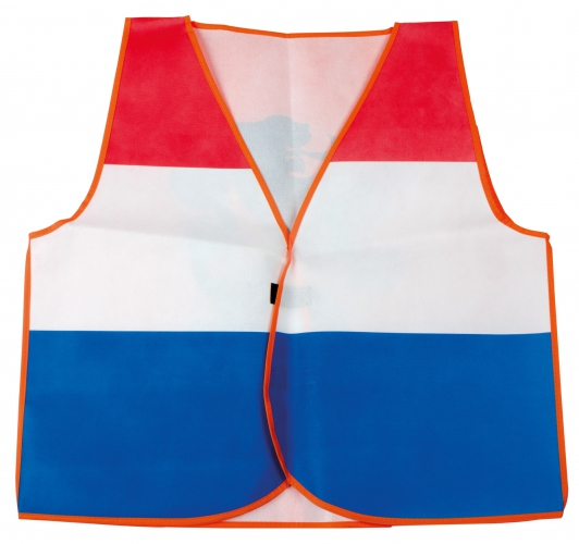 Holland supporters vestje rood wit blauw