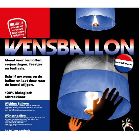 Holland wensballon