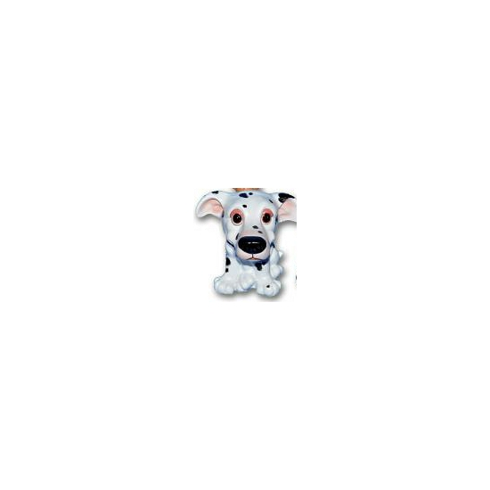 Honden beeldje Dalmatier puppie 13 cm