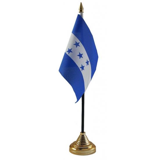 Honduras tafelvlag met standaard