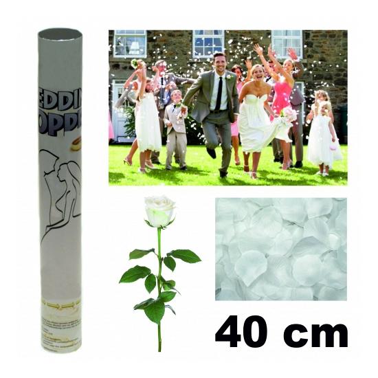Huwelijk rozenblaadjes knaller 40 cm