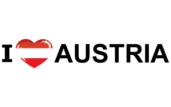 I Love Austria stickers