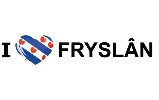 I Love Fryslan stickers