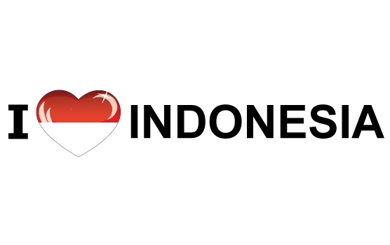 I Love Indonesia stickers