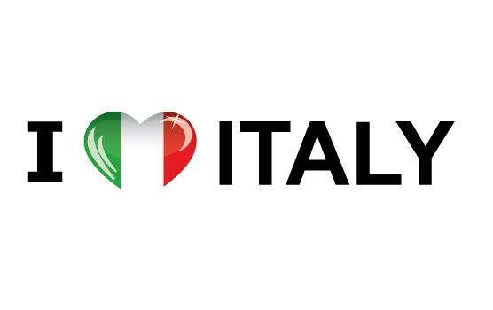 I Love Italy stickers