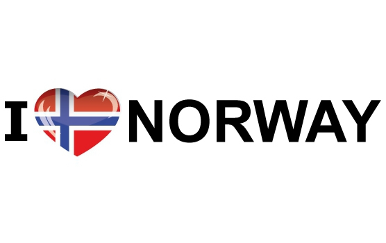 I Love Norway stickers