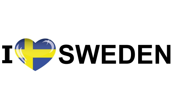 I Love Sweden stickers