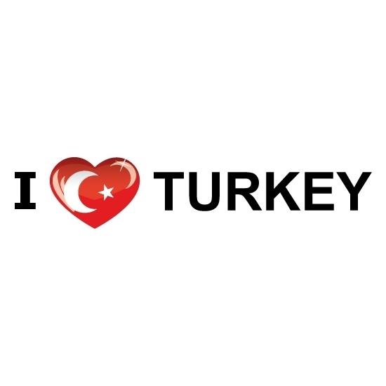 I Love Turkije stickers