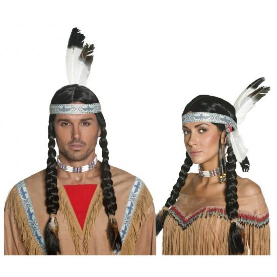 Indianenpruik voor volwassenen