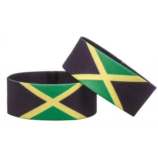 Jamaica fan armbandje