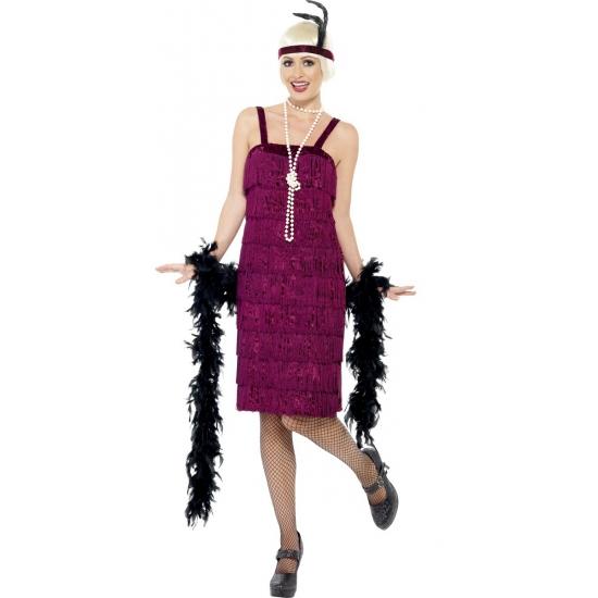 Jaren 20 jazz jurk voor dames