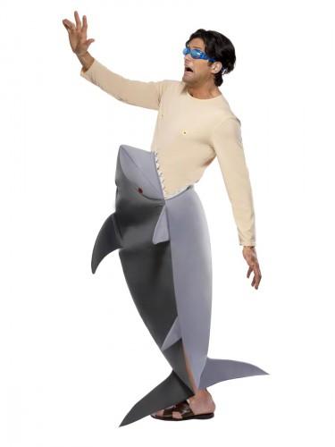 Jaws verkleedpak met haaienbek