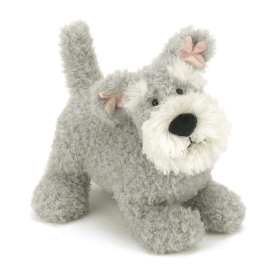 Jellycat knuffels Schnauzer hond 23 cm