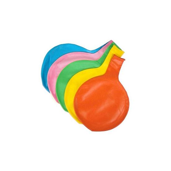 Jumbo ballon licht blauw 65 cm