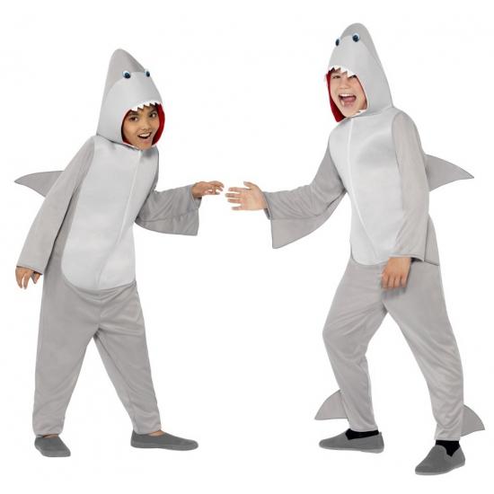 Jumpsuit haai all in one voor kinderen