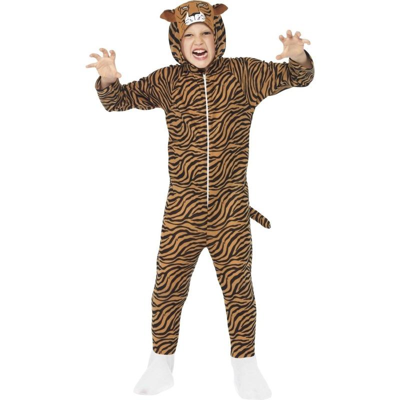 Jumpsuit tijger all in one voor kinderen