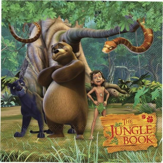 Jungle Book feest servetten 20 stuks