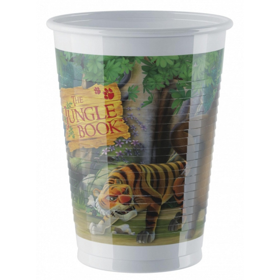 Jungle Book thema bekers 8 stuks