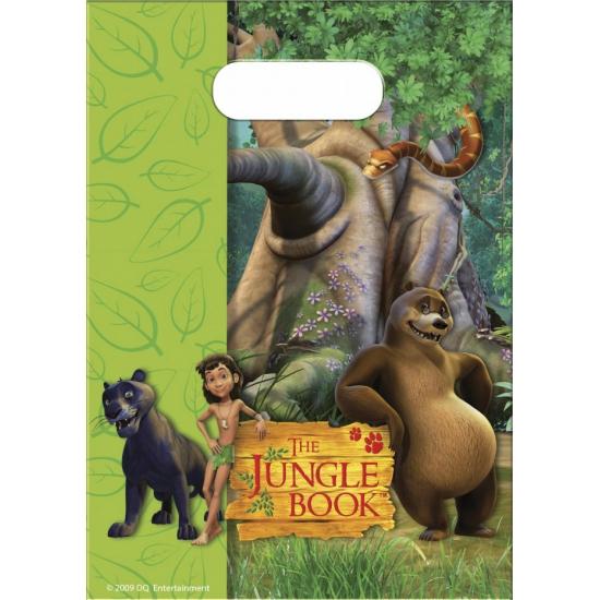 Jungle Book uitdeelzakjes 6 stuks