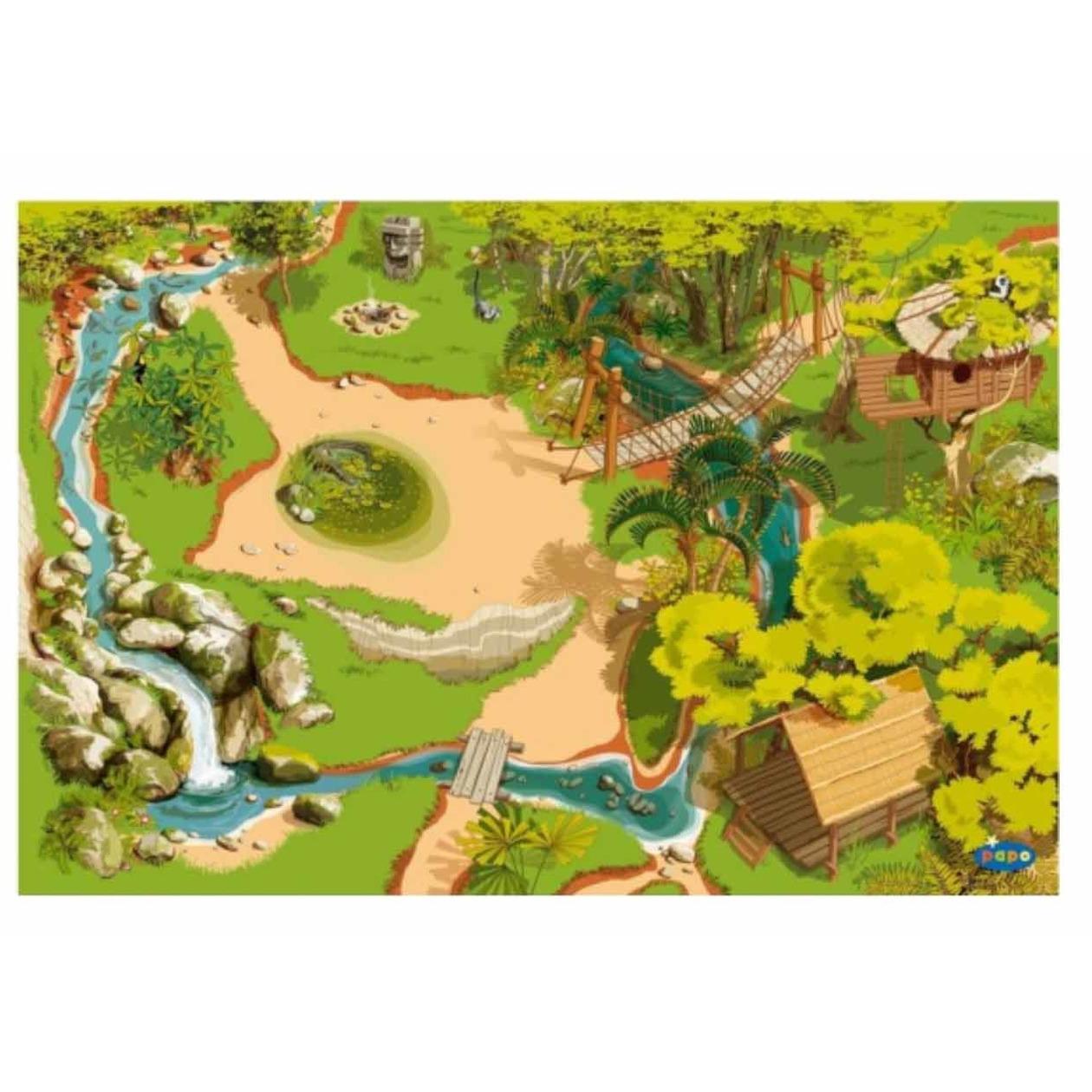Jungle kinderkleed 95 x 135 cm