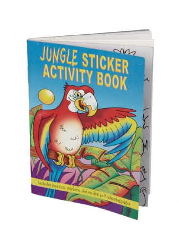 Jungle thema kleurplaten boek