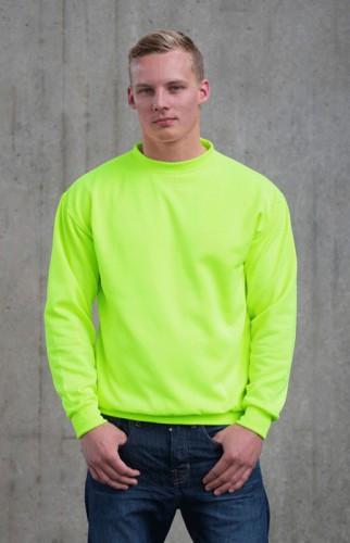 Just Hoods neon groene trui voor heren