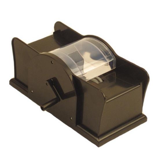 Kaarten schud machine