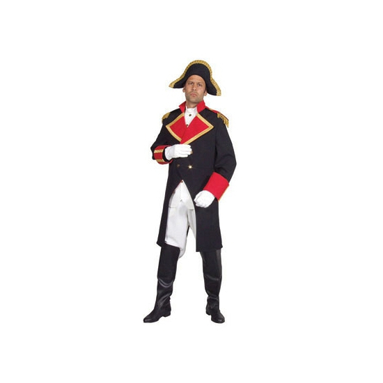 Kapiteins kostuums Napeleon heren