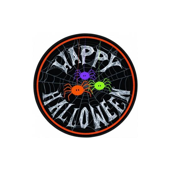 Kartonnen Halloween bordjes 10 stuks