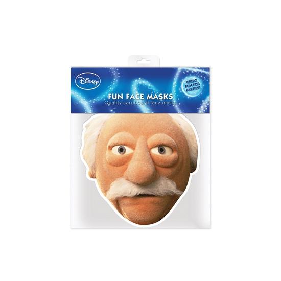 Kartonnen masker Waldorf