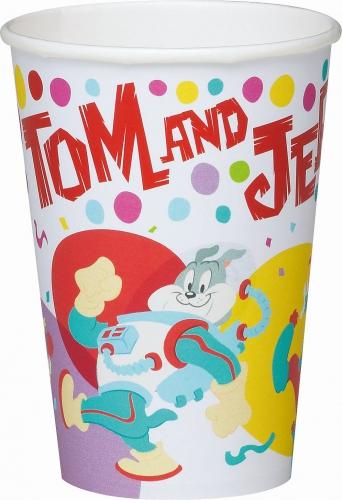 Kartonnen Tom en Jerry bekers