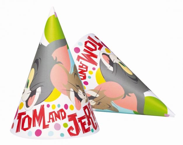 Kartonnen Tom en Jerry hoedjes