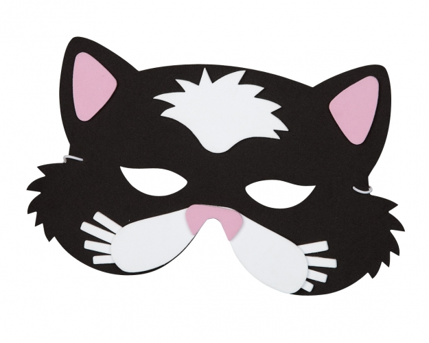 Katten gezichtsmasker