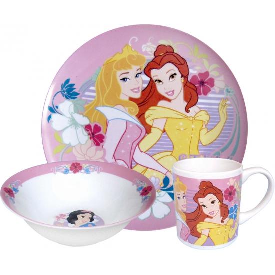 Keramieken ontbijtset Disney prinsessen