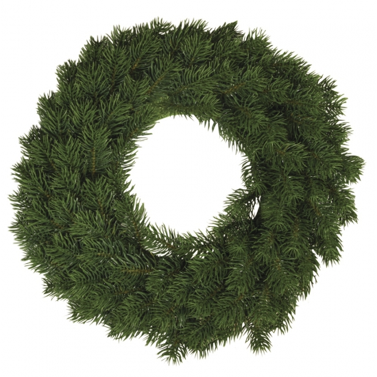 Kerst decoratie krans 30 cm