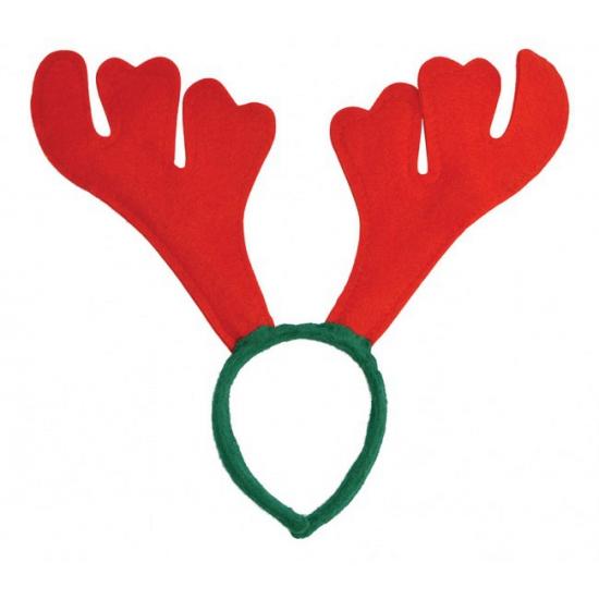 Kerst haarband rendier gewei