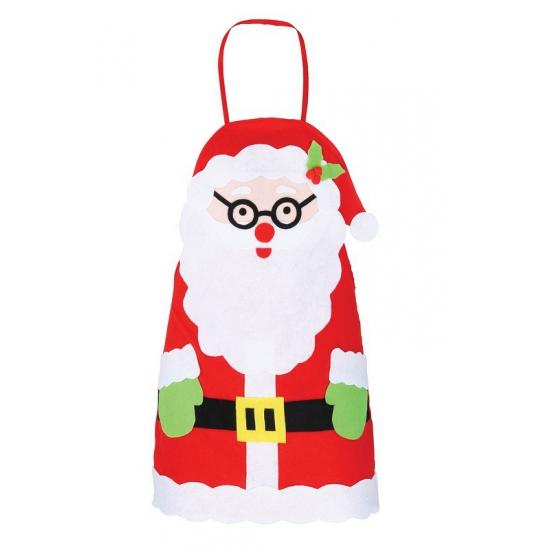 Kerst schort voor kinderen