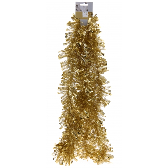 Kerst slinger goud 270 cm