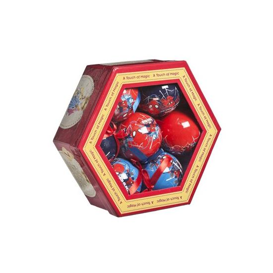 Kerstballen Spiderman 7 stuks