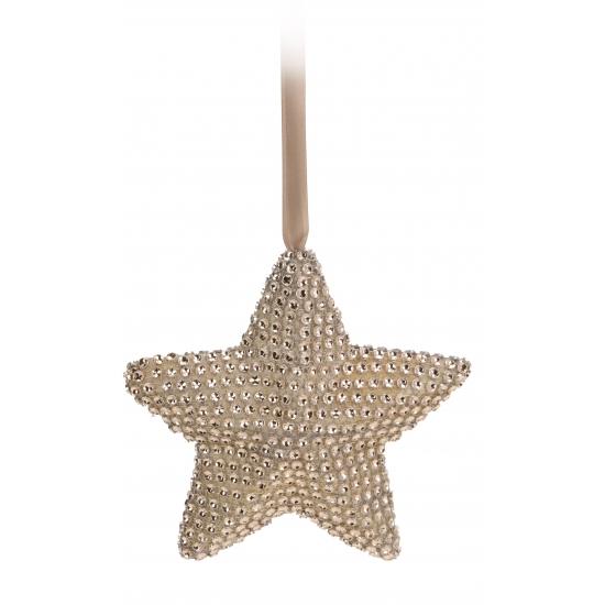 Kerstboom hanger ster 15 cm