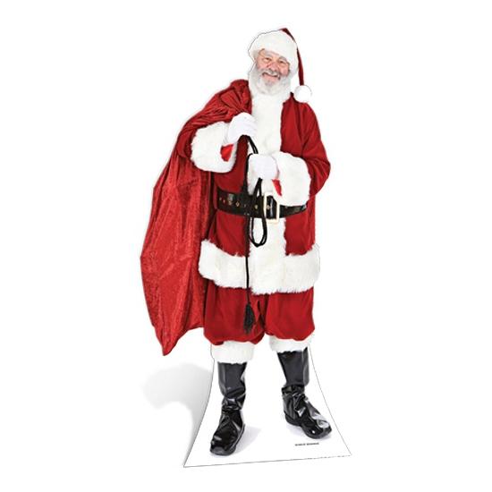 Kerstman decoratiebord