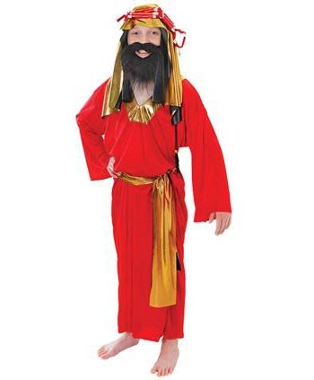 Kids kerst kostuum Drie Wijzen uit het Oosten