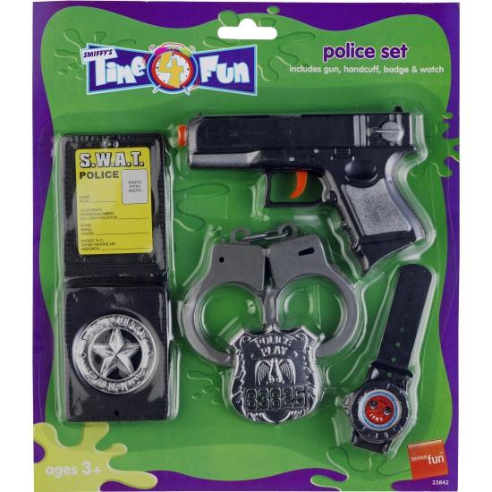 Kinder politie accessoires set