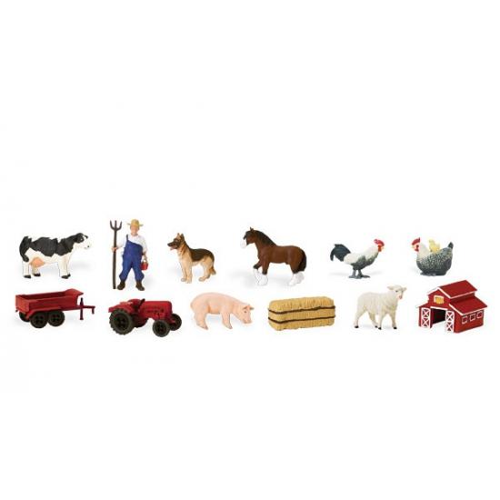 Kinder speelgoed boerderij figuren